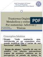 Trastornos Metabólicos y Orgánicos