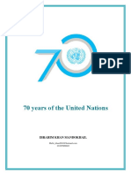 70 Years of Un..............by Ibrahim Mandokhail