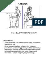 Asfiksia - ZULQRNAIN