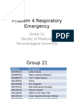 Group 21 - Problem 4 Respiratory Emergency