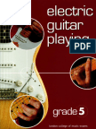 RGT-LCM Electric Guitar Playing - Grade 5