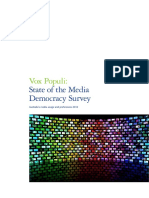 Vox Populi_State of the Media Democracy Survey