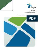 Ausgrid NS220 Overhead Design Manual
