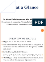 Hajj at a Glance