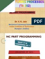 F L8 TA 202 NC Part Programming