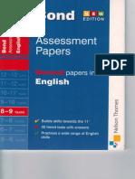 Bond Assessment Paper Y8-9
