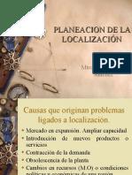 PLANEACION DE LA LOCALIZACIÓN