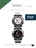 Clarity Watch Face 1.1.0, Garmin
