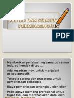Prinsip Dan Strategi Psikodiagnostik