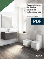 Catálogo-Tarifa Colecciones de Baño, Muebles y Accesorios 2015