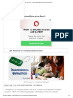 LET Reviewer - Professional Education Part 9 _ INFINITHINK