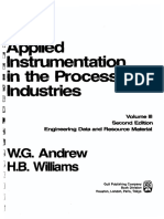 Applied Instrumentation in Process Industries Vol 3