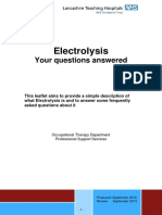 Electrolysis Your Questions Answered