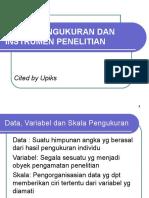 Data, Variabel Dan Skala Pengukuran