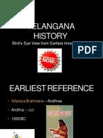Telangana History anceint to 1956