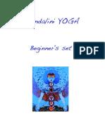 Kundalini Yoga Beginner's Set