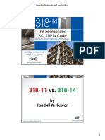 ACI 318 14 Benefits Rationale Availability Reno