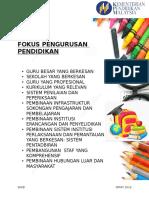 FOKUS PENGURUSAN PENDIDIKAN.doc