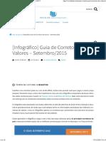 [Infográfico] Guia de Corretoras de Valores - Maio_2015