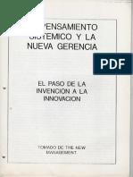 Peter Senge - El Paso de La Invención a La Innovación