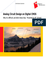 Analog Circuit Design on Digital CMOS