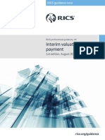 Interim Valuations and Payment 1st Edition PGguidance 2015