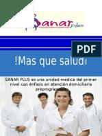 Presentación Sanarplus Clientes Institucionales
