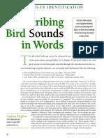 Describing Bids Sounds