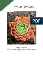 Appunti Di Botanica