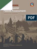 Nepal Pdna Executive Summary