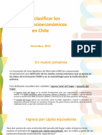 Grupos Socioeconómicos Chile - AIM