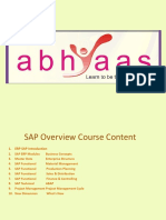 Abhyaas Course Content