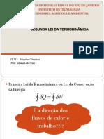 Segunda Lei Da Termodinamica IT 515 2015 II