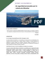 Problemas de Seguridad Provocados Por La Colonia de Gibraltar