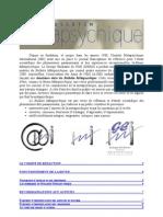 Bulletin Métapsychique - Recommandations aux auteurs