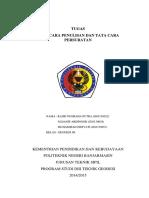 Tata Cara Pembuatazzn Surat Dinas Sk