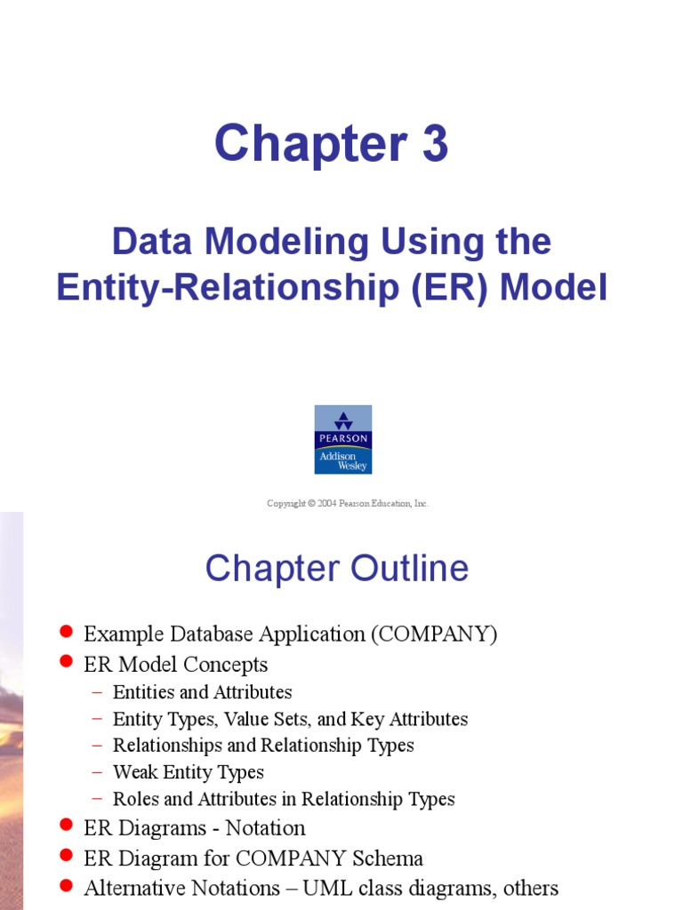 Chapter 3 erd conceptual model data model ccuart Images