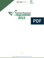 Guia Premio Nacional Del Emprendedor