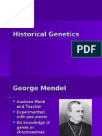 Historical Genetics Internet