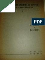 Memoria y Balance CAD-COA, 1946-47