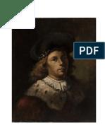 Samuel Van Hoogstraeten. Auto retrato.