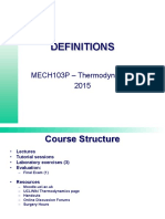 Thermodynamics Introduction