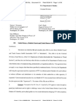 US v. Daimler Export and Trade Finance - Plea Agreement