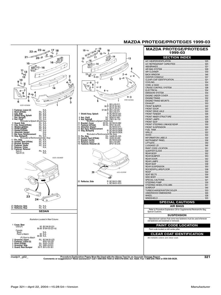 Car - Mazda Protege 1993-2003