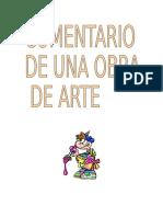 Comentario de Interpretación Del Patrimonio Artístico. Grado de Turismo UV.