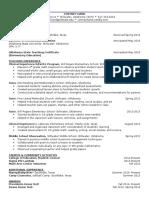 cortney hand- resume   additional information
