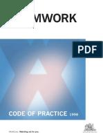 Formwork Code of Practice