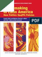 Tomasi, How Poltics Shape Policies