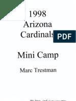 1998 Arizona Cardinals Offense