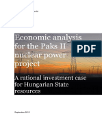 Rotschild Report 2015_Economic Analysis of Paks II - For Publication